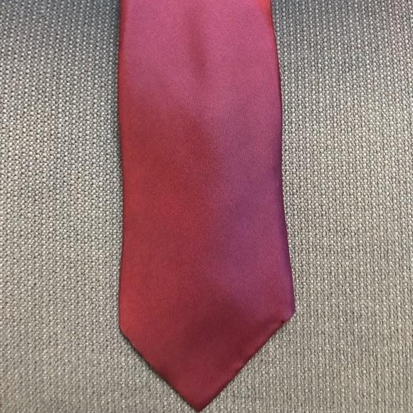 Hermes Other - Solid red Hermès Tie